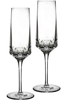 JOHN ROCHA @ WATERFORD Rian flute pair