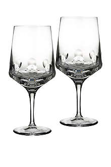 JOHN ROCHA @ WATERFORD Rian goblet pair
