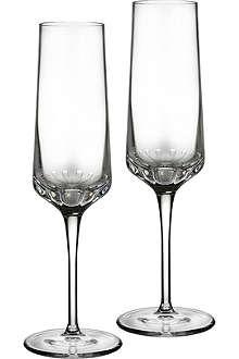 JOHN ROCHA @ WATERFORD Ori flute pair