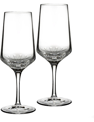 JOHN ROCHA @ WATERFORD Ori white wine glass pair