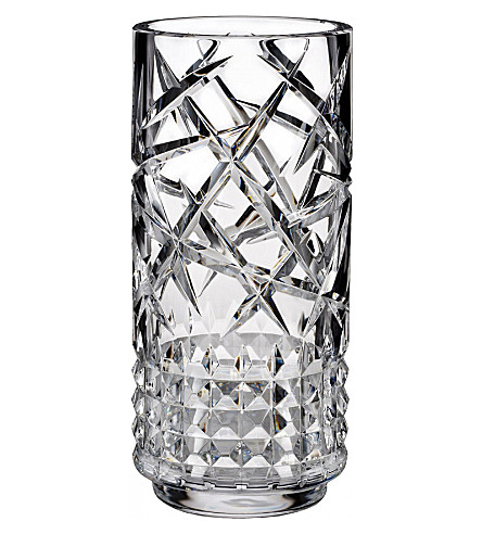 WATERFORD Tina crystal vase 30cm