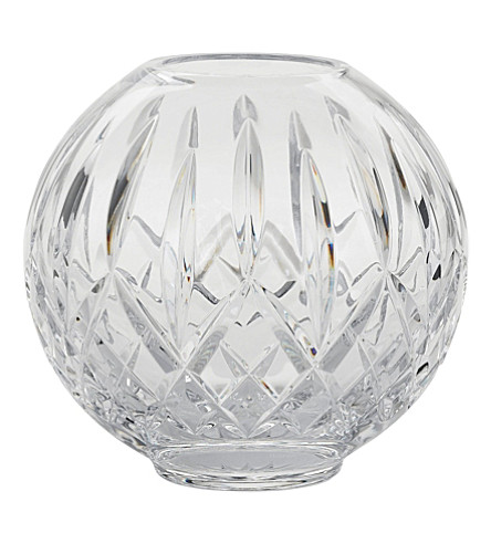 WATERFORD Lismore crystal rose bowl 15cm