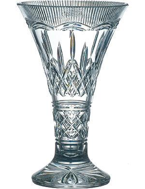 WATERFORD Lismore statement vase 35cm
