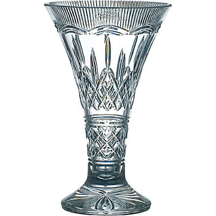 WATERFORD Lismore statement vase 35cm