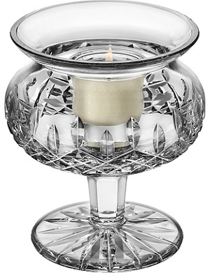 WATERFORD Lismore votive candle holder 12cm