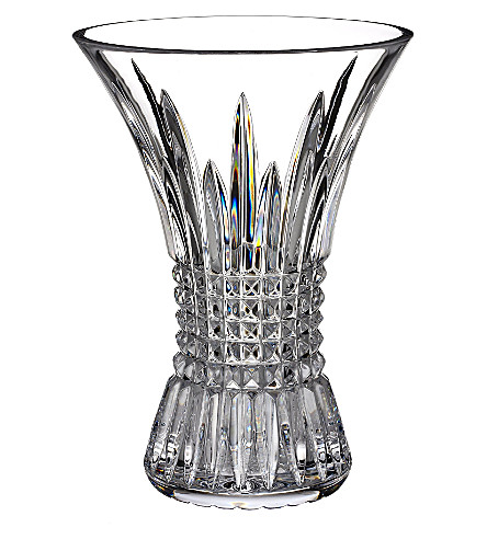 WATERFORD Lismore Diamond vase 20cm