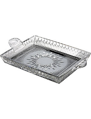 WATERFORD Lismore Diamond serving tray