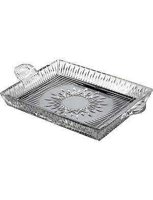 WATERFORD Lismore Diamond serving tray
