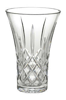 WATERFORD Lismore crystal vase 20cm
