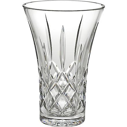 WATERFORD Lismore crystal vase 20cm