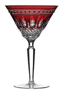 WATERFORD Clarendon ruby martini glasses set of two