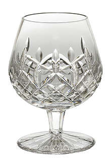 WATERFORD Lismore crystal brandy glass