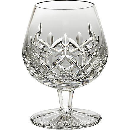 WATERFORD Lismore crystal brandy glass