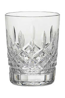 WATERFORD Lismore crystal double old fashioned tumbler