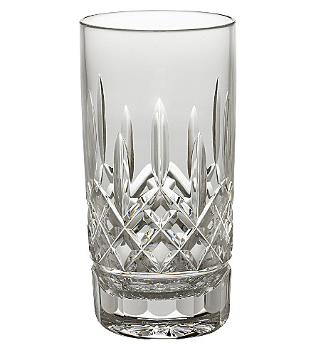WATERFORD Lismore crystal highball tumbler