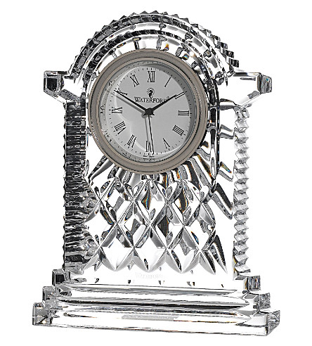 WATERFORD Lismore crystal carriage clock
