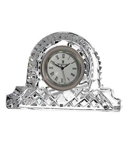 WATERFORD Lismore crystal clock