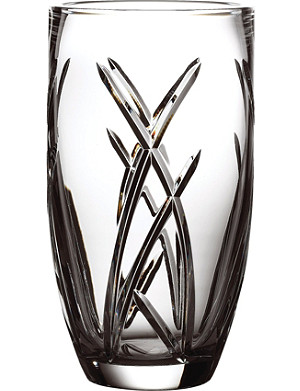 JOHN ROCHA @ WATERFORD Signature crystal vase 28cm