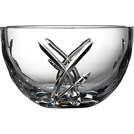 JOHN ROCHA @ WATERFORD Signature crystal bowl 20cm