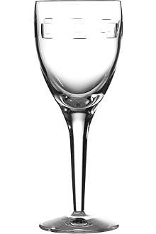 JOHN ROCHA @ WATERFORD Geo white wine glasses set of six
