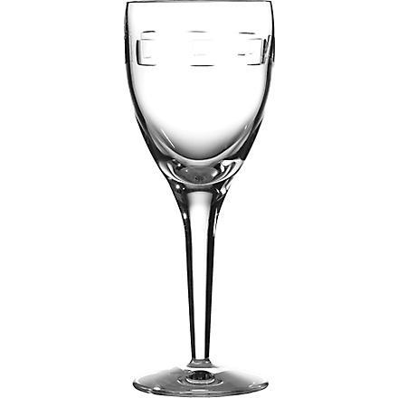 JOHN ROCHA @ WATERFORD Geo set of six white wine glasses