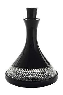 JOHN ROCHA @ WATERFORD Black Cut decanter