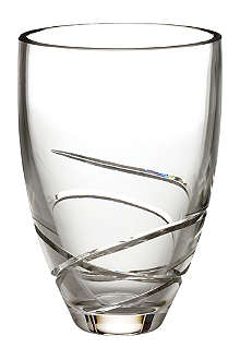 WATERFORD Ballet Ribbon vase