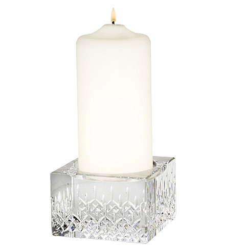 WATERFORD Lismore Essence crystal pill candle holder