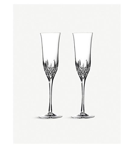 WATERFORD 两利斯莫尔精华香槟眼镜套