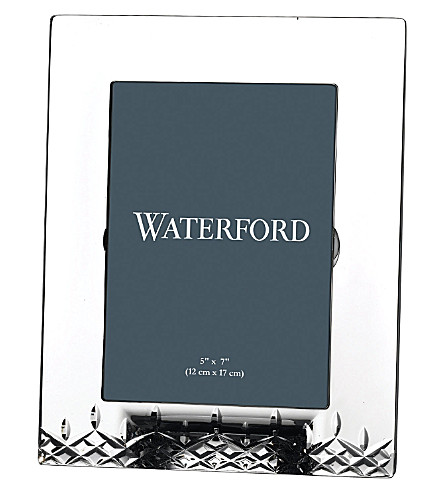 WATERFORD Lismore Essential crystal photo frame 5