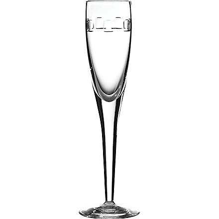 JOHN ROCHA @ WATERFORD Set of two Geo champagne flutes