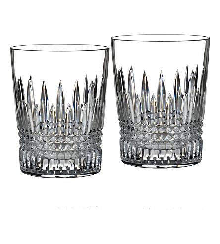WATERFORD 两利斯莫尔钻石不倒翁眼镜一套