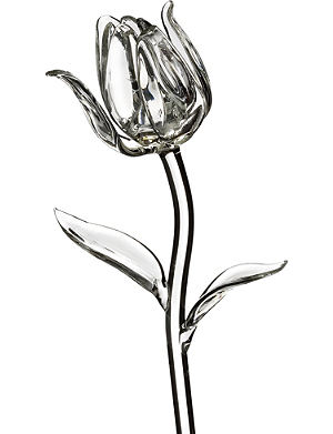 WATERFORD Fleurology crystal tulip