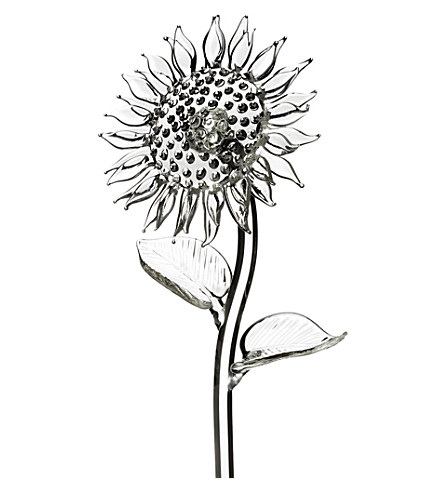 WATERFORD Fleurology crystal sunflower