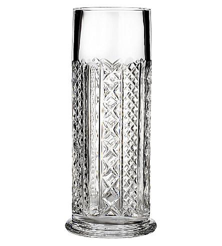 Waterford Fleurology Crystal Cylinder Vase 25cm Selfridges