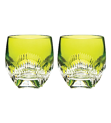WATERFORD Mixolgy pair of crystal tumblers