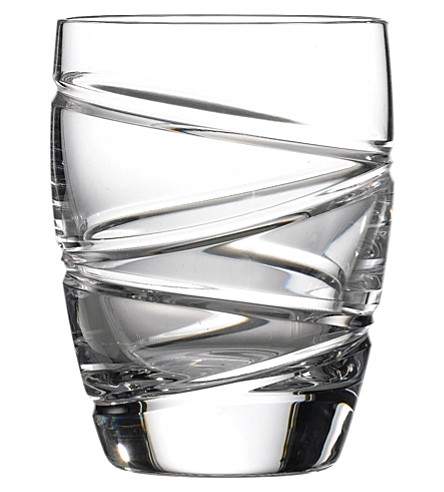 JASPER CONRAN @ WATERFORD Set of two aura crystal tumblers