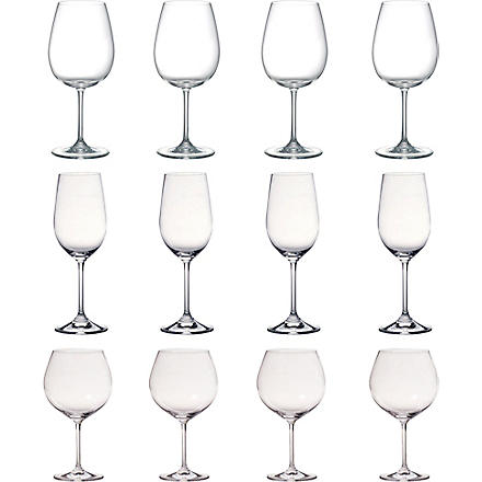 WATERFORD Marquis vintage wine glass set of 12