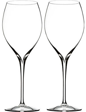 WATERFORD Set of two Elegance Shiraz wine glasses
