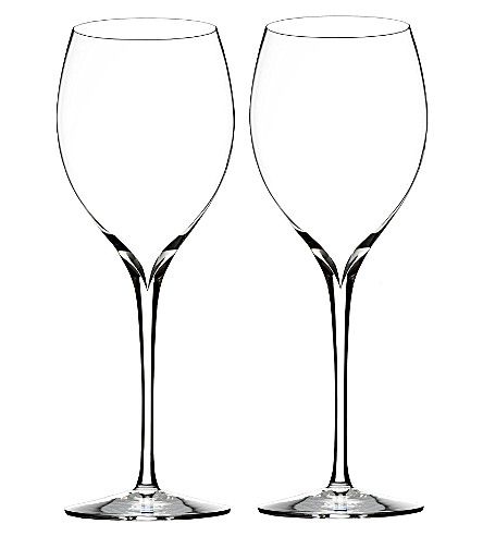 WATERFORD Set of two Elegance Chardonnay wine glasses