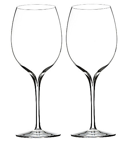 WATERFORD Set of two Pinot Grigio wine glasses