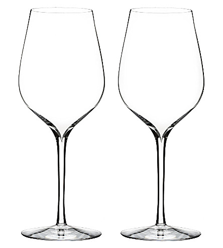 WATERFORD Set of two Elegance Sauvignon Blanc wine glasses
