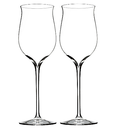 WATERFORD Set of two Elegance Riesling wine glasses