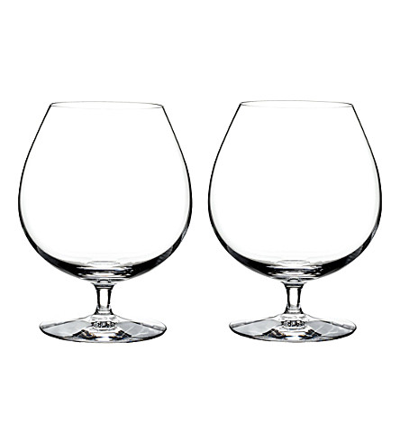 WATERFORD Set of two Elegance Brandy glasses