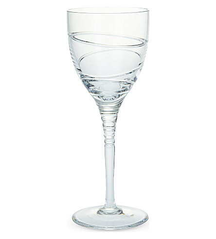 JASPER CONRAN @ WATERFORD Jasper Conran Aura II set of two goblet glasses