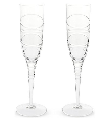 JASPER CONRAN @ WATERFORD Jasper Conran Aura II set of two flutes