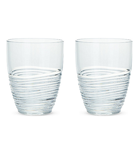 JASPER CONRAN @ WATERFORD Jasper Conran Strata II set of two tumblers