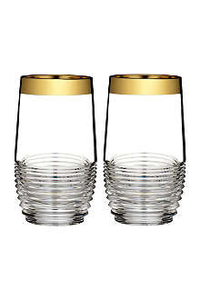WATERFORD Set of two Mixology Circon HiBall glasses