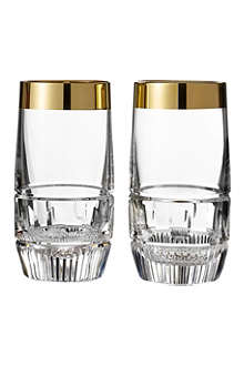 WATERFORD Set of two Mixology Olson HiBall glasses