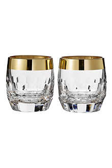 WATERFORD Set of two Mixology Draper DOF glasses
